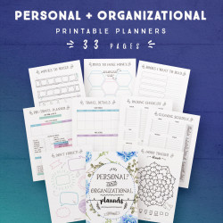 Personal and Organizational Planners [33 Pages]