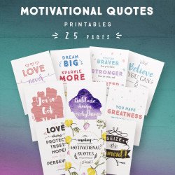 Motivational Quotes [25 Pages]