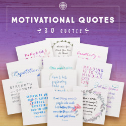 Inspiring Motivational Quotes - Commercial Use [30 quotes]