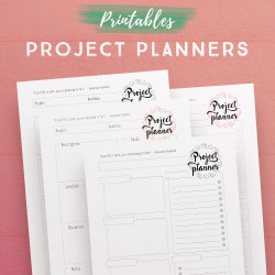 Project Planner Printables
