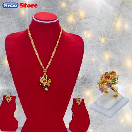 Navaratna Jewellery Set