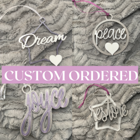 Custom Made To Order Ornament