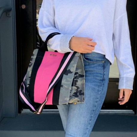 Camoflouge Tote Pink