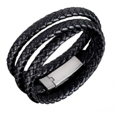 Bracelet Data Charging Cable by Living Life with Style shown extra long