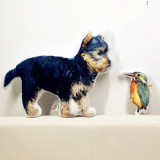 Custom Dog and Bird Pillow by Living Life with Style