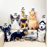 Customized Pet Pillow Available Sizes