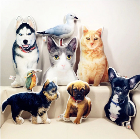 Customized Pet Pillows by Living Life with Style