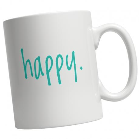 Step In To Happy Coffee Mug