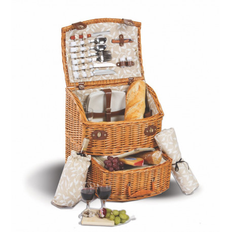 Ultimate Wicker Picnic Basket Set