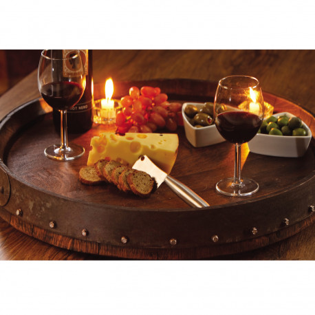 Wine Barrel Table Top LazySusan