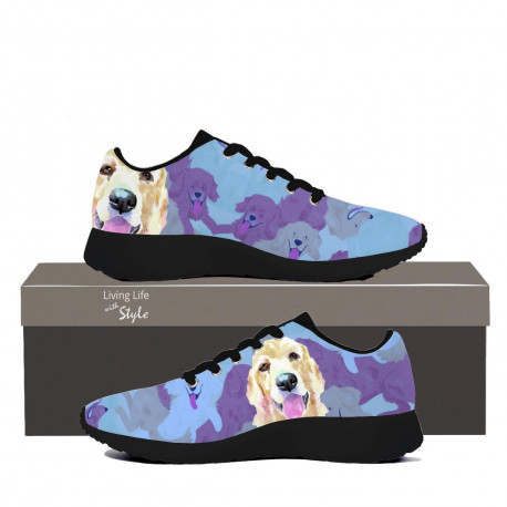 Golden Retriever Womens Sneaker