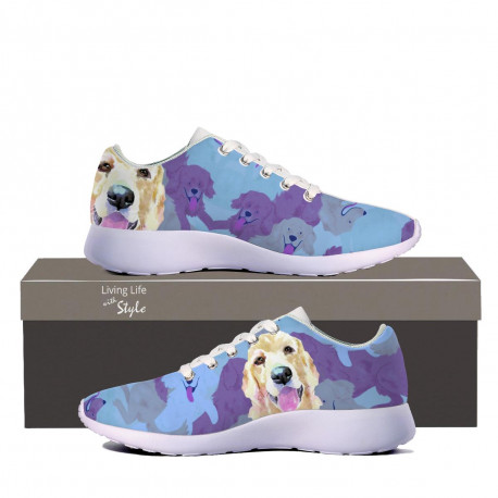 Golden Retriever Sneaker for Kids