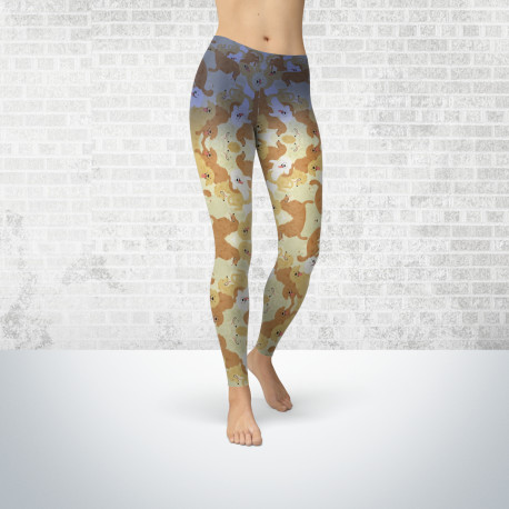 Golden Retriever Leggings for Women
