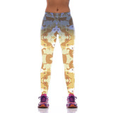 Golden Retriever Leggings for Women-front view