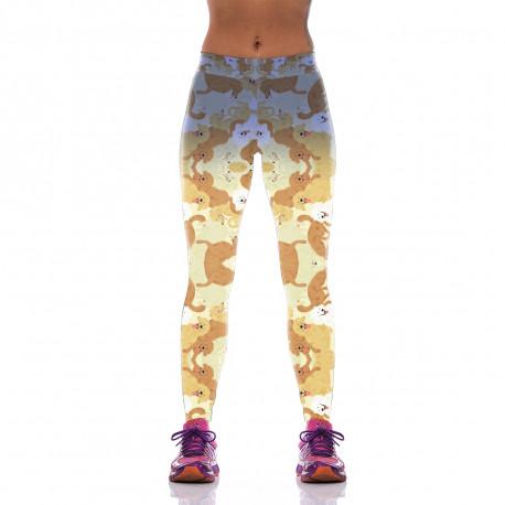Golden Retriever Leggings for Women-front view