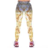Golden Retriever Leggings for Women-back view
