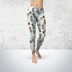 German Shepherd Leggings for Women, Living Life with Style