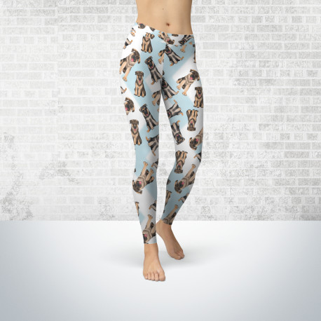 German Shepherd Fashion Leggings For Women