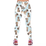 German Shepherd Leggings for Women-back view, Living Life with Style