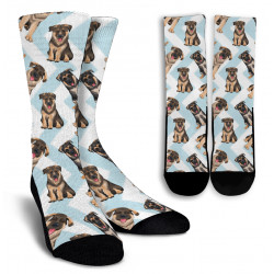 German Shepherd Crew Socks by Living Live with Style