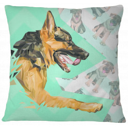 German Shepherd Decorative Throw Pillows Cover by Living Life with Style