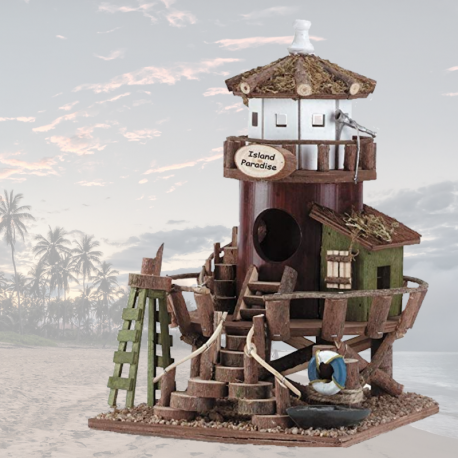 The Lifeguard Station Bird House - Living Life with Style, a 4 Winds of Change Company