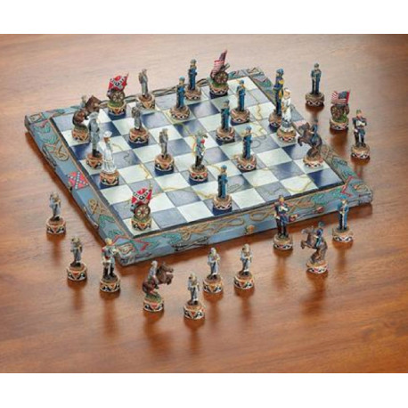 Civil War Themed Chess Set
