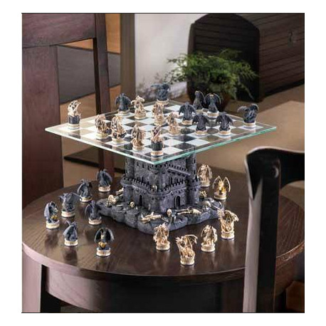 Dragon Themed Chess Set The Castle Tower