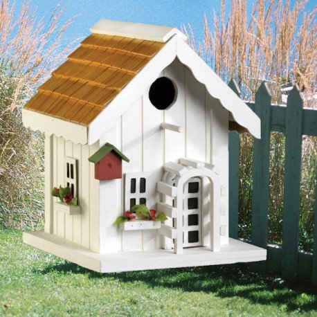 The Country Cottage Birdhouse by Living Life with Style