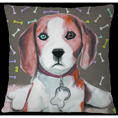 Beagle Premium Pillow Cover