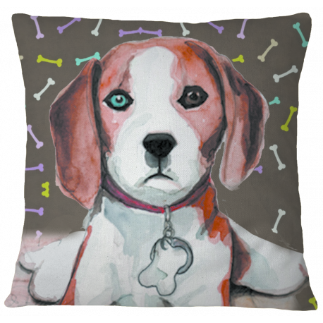 Beagle Premium Pillow Cover