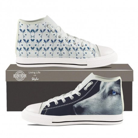 Husky Hightop Sneakers for Men by Living Life with Style