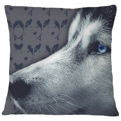 Husky Decorative Pillow Case Cover