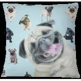 Pug Pillow Case Cover