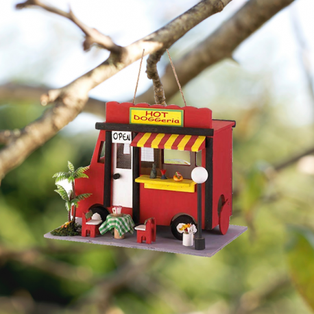 e Little Red Food Truck Birdhouse by Living Life with Style