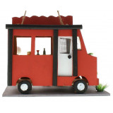 The Little Red Food Truck Bird House
