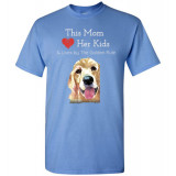 Mom & the Golden (Retriever) Rule by Living Life with Style shown in Carolina Blue