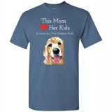 Mom & the Golden (Retriever) Rule by Living Life with Style shown in Indigo Blue