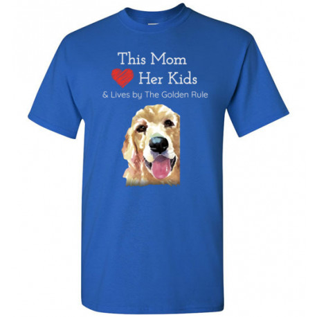 Mom & the Golden (Retriever) Rule by Living Life with Style shown in Royal