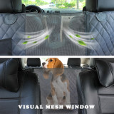 Hammock Style Dog Seat Cover by Living Life with Style has Mesh Window