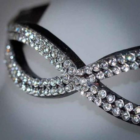 Mega Bling Crystal Diamante Oval Browband