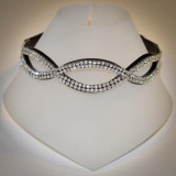Mega Bling Crystal Diamante Oval Browband