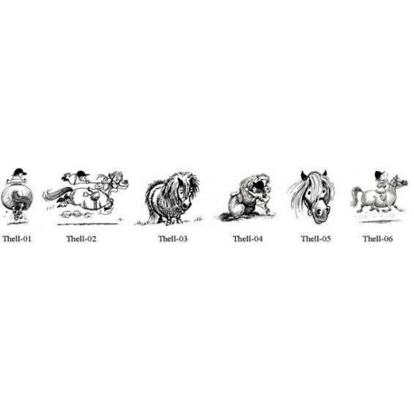 Thelwell Float & Car Decals