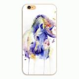 Watercolour Horses  iPhone Hard Plastic Case Cover