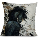 Painted Ponies Decorative Pillow Covers
