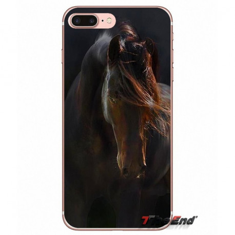 Beautiful Dark Horse TPU Silicone Case For iPhone X 4 4S 5 5S 5C SE 6 6S 7 8 Plus Samsung Galaxy J1 J3 J5 J7 A3 A5 2016 2017Add