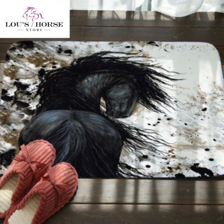 Painted Ponies Floor Mat