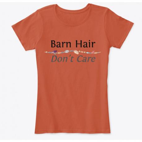 Horse Lovers Barn Hair Don't Care Tee