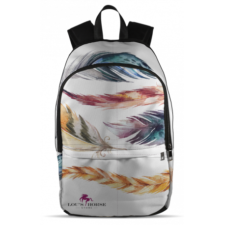 Feathers Designer Backpack
