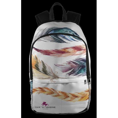 Feathers Designer Backpack